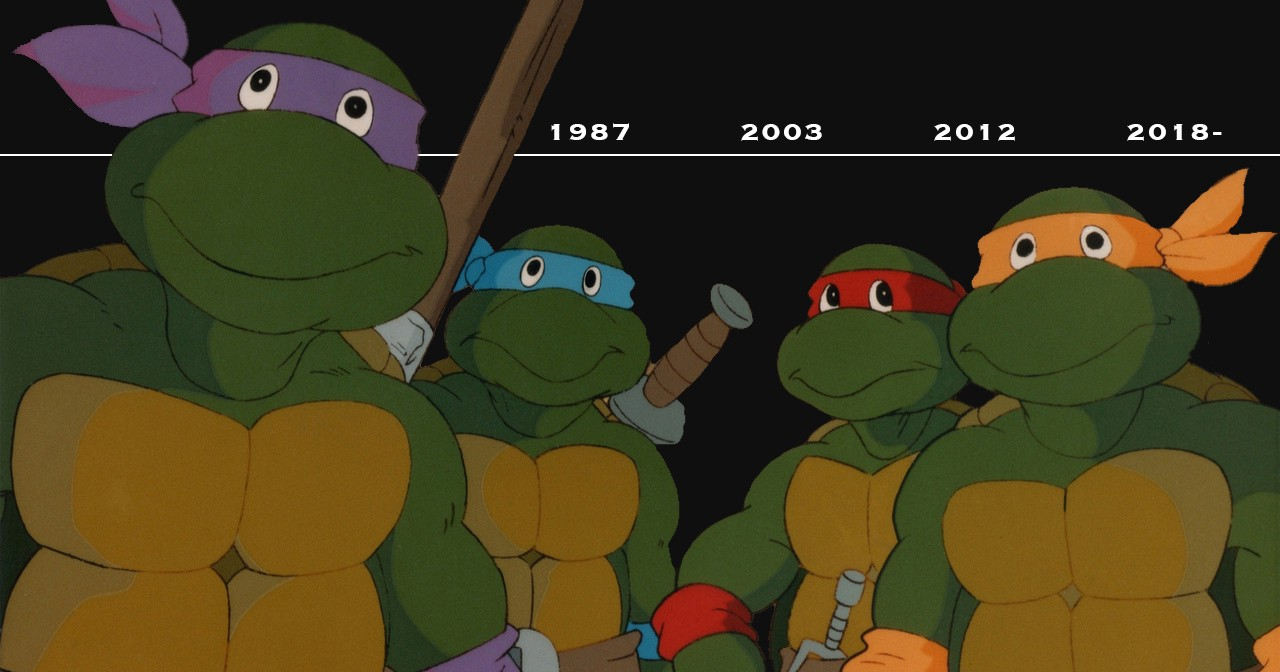 How Each 'TMNT' Cartoon Proved Itself Time and Again – The Dot and Line