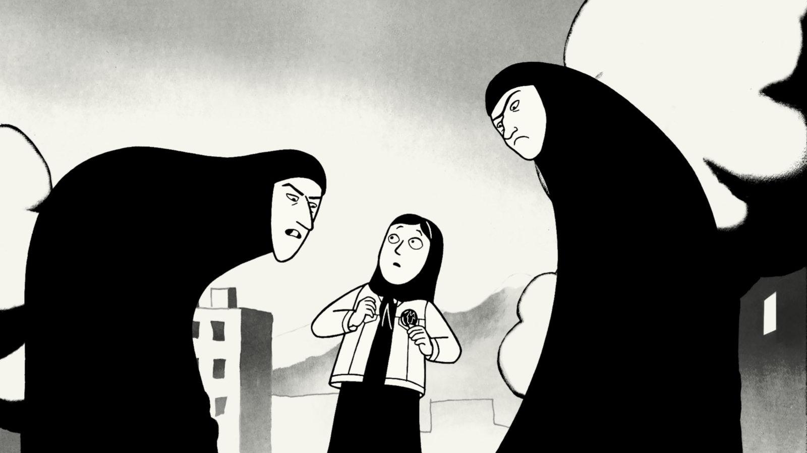 Persepolis Creator Marjane Satrapi Has Plenty Of Kick The Dot And Line