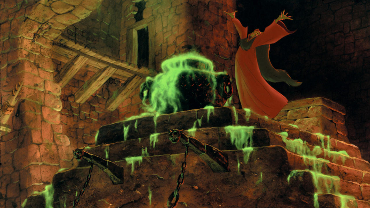 An Urgent Question About 'The Black Cauldron' – The Dot and Line